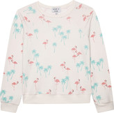 Wildfox Couture Flamingo cotton jumper 4-6 years
