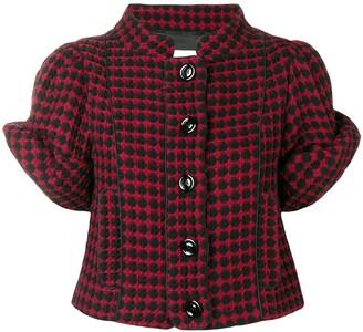 Moschino Pre-Owned diamond check jacket