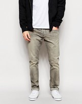 Polo Ralph Lauren Slim Jeans In Washed Grey - Grey
