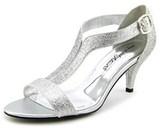 Easy Street Shoes Glitz Open-toe Synthetic Heels.