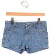Bonpoint Girls' Chambray Mini Shorts