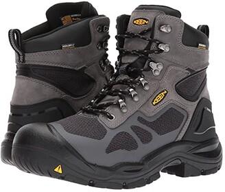 Keen Concord 6 Waterproof (Steel Grey/Black/Classic Blue) Men's Work Boots
