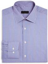 Ike Behar Check Regular Fit Dress Shirt
