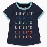 Levi's Toddler Girls (2T-4T) Way Back Ringer Tee