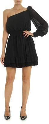 Dondup One Shoulder Mini Dress