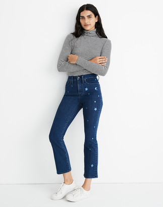 Madewell Cali Demi-Boot Jeans: Star Edition