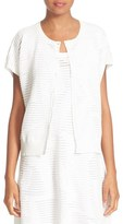 M Missoni Women's Sheer Ribbed Cardigan
