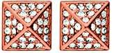 Dyrberg/Kern Dyrberg Kern Rah RG Crystal Earrings