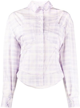 Jacquemus Check Button-Front Shirt