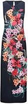 M&Co Floral print maxi dress