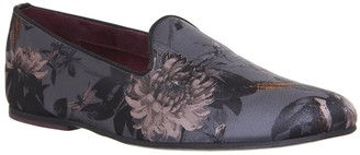 Ted Baker Vihan Evening Slippers Grey Floral