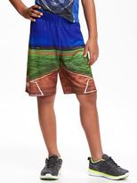 Old Navy Go-Dry Sports-Graphic Shorts for Boys