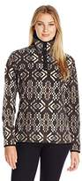 Woolrich Women's Trail Blazing Printed Fleece Pullover