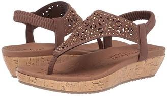 Skechers Brie - Dally (Brown) Women's Sandals