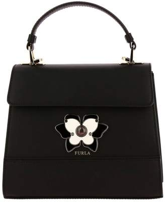 Furla Mini Bag Mughetto Bag In Smooth Leather With Butterfly Jewel Closure
