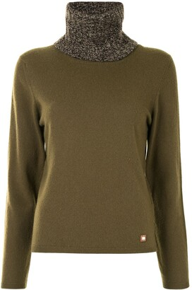 Chanel Pre Owned 2001 Roll-Neck Cashmere Jumper