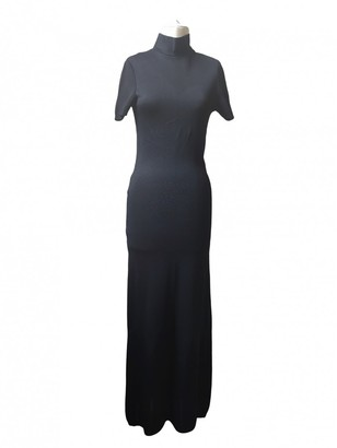 Gianfranco Ferre Black Cotton Dress for Women