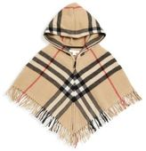 Burberry Little Girl's & Girl's Victoria Hooded Wool Cape