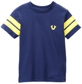 True Religion Varsity Paneled Tee (Toddler & Little Boys)