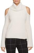 Elie Tahari Torrence Cold Shoulder Cashmere Sweater