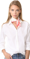 Rebecca Minkoff Paper Airplane Silk Square Scarf