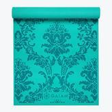 Gaiam Neo-Baroque Print Yoga Mat Blue (3mm)
