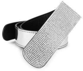 Giuseppe Zanotti Embellished Buckle Belt