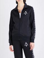 Marcelo Burlon County of Milan Kappa zip-up sports-jersey jacket