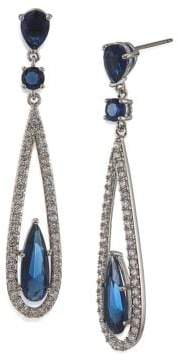 Carolee The Looking Glass Recolor Linear Drop Earrings