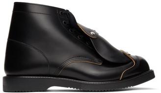 Comme des Garcons Black Safety Boots