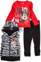 Children's Apparel Network Minnie Mouse Vest Set - Toddler