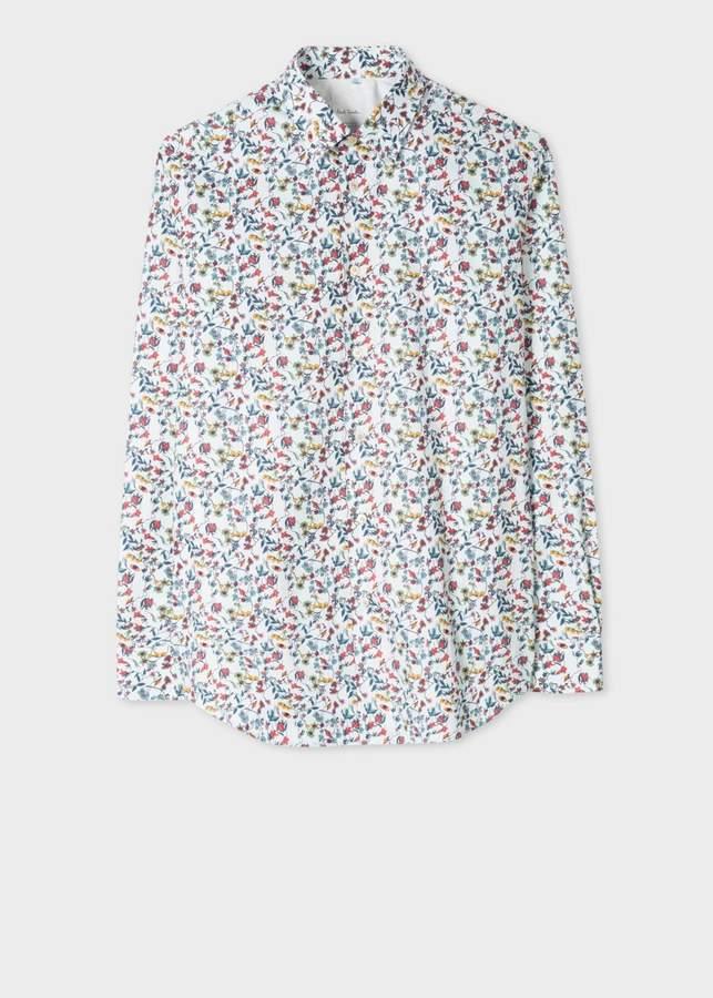b07fb87e Paul Smith Floral Mens Shirt - ShopStyle Australia