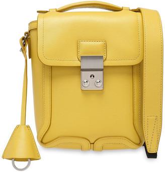 3.1 Phillip Lim Pashli Camera Textured-leather Shoulder Bag