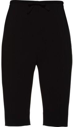 Miu Miu Bow Detail Slim-Fit Shorts