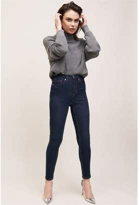 Dynamite Kate High Rise Skinny Jeans Justine Dark Wash