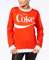 Hybrid Juniors' Enjoy Coke Graphic Sweatshirt