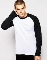Dickies Raglan Long Sleeve T-shirt - Black