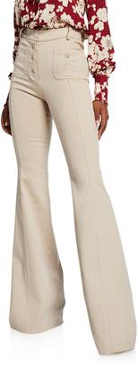Alexis Helene High-Rise Flared Pants