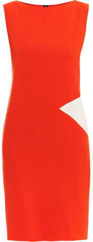 Roksanda Ilincic Jarrett diamond crepe dress