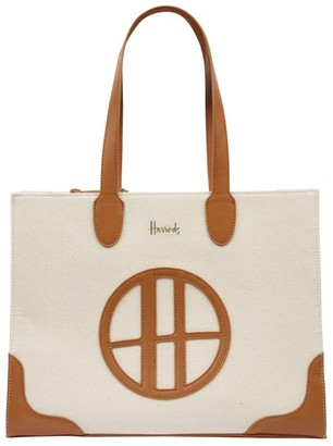 Harrods Dulwich Shoulder Tote Bag