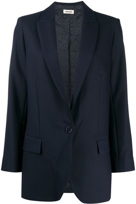 Zadig & Voltaire One-Button Blazer