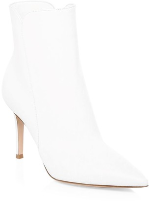 Gianvito Rossi Levy Leather Ankle Boots