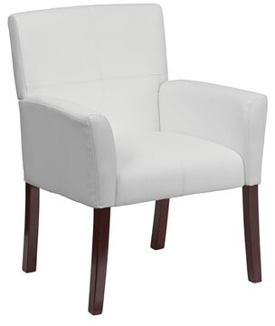 Ebern Designs Hirsh Executive Leather Lounge Chair
