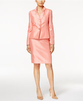 Le Suit Shimmer Skirt Suit, Regular & Petite