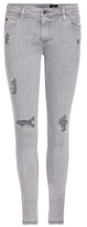 AG Jeans The Legging Ankle distressed jeans