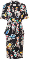 Jason Wu floral shirt dress