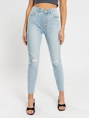 Articles of Society High Lisa Skinny Ankle Hug Jeans in Summer Blues Denim