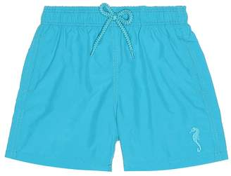 Vilebrequin Kids Jim water-reactive swim trunks