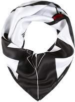 Karl Lagerfeld SELFIE Scarf white