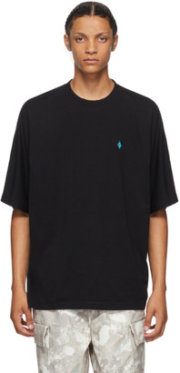 Marcelo Burlon County of Milan Black County Script T-Shirt